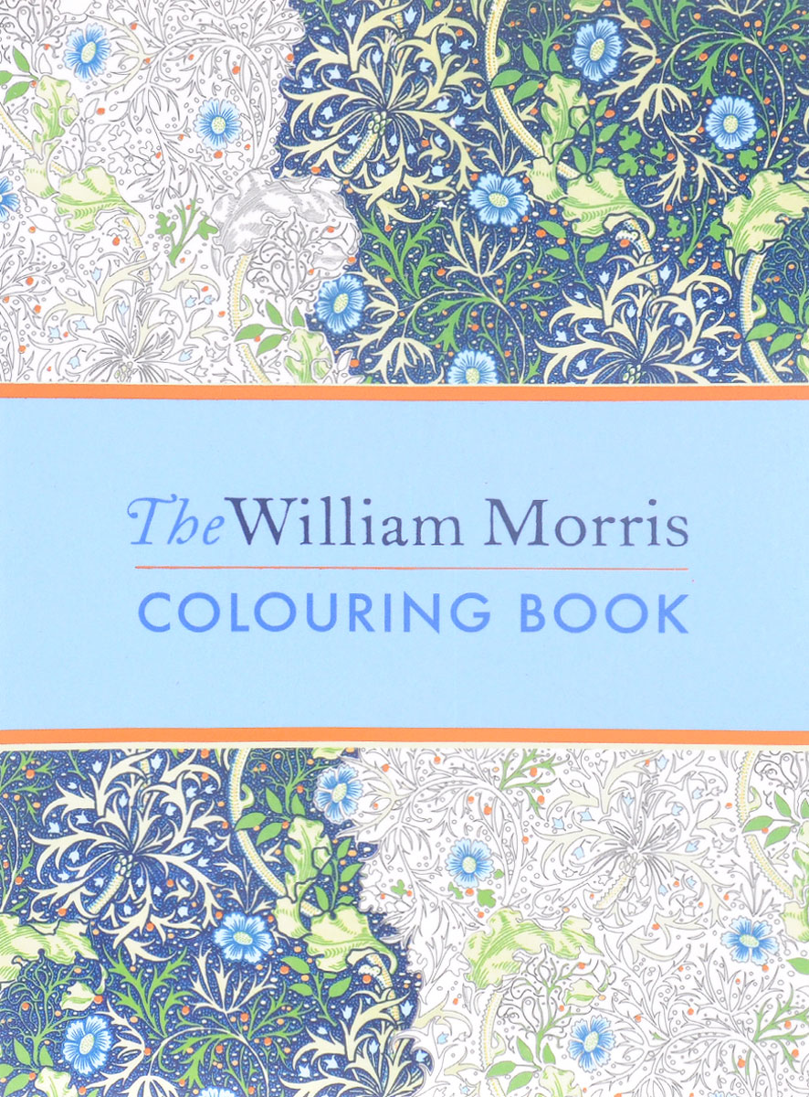 The William Morris: Colouring Book the colouring book of cards and envelopes – unicorns and rainbows