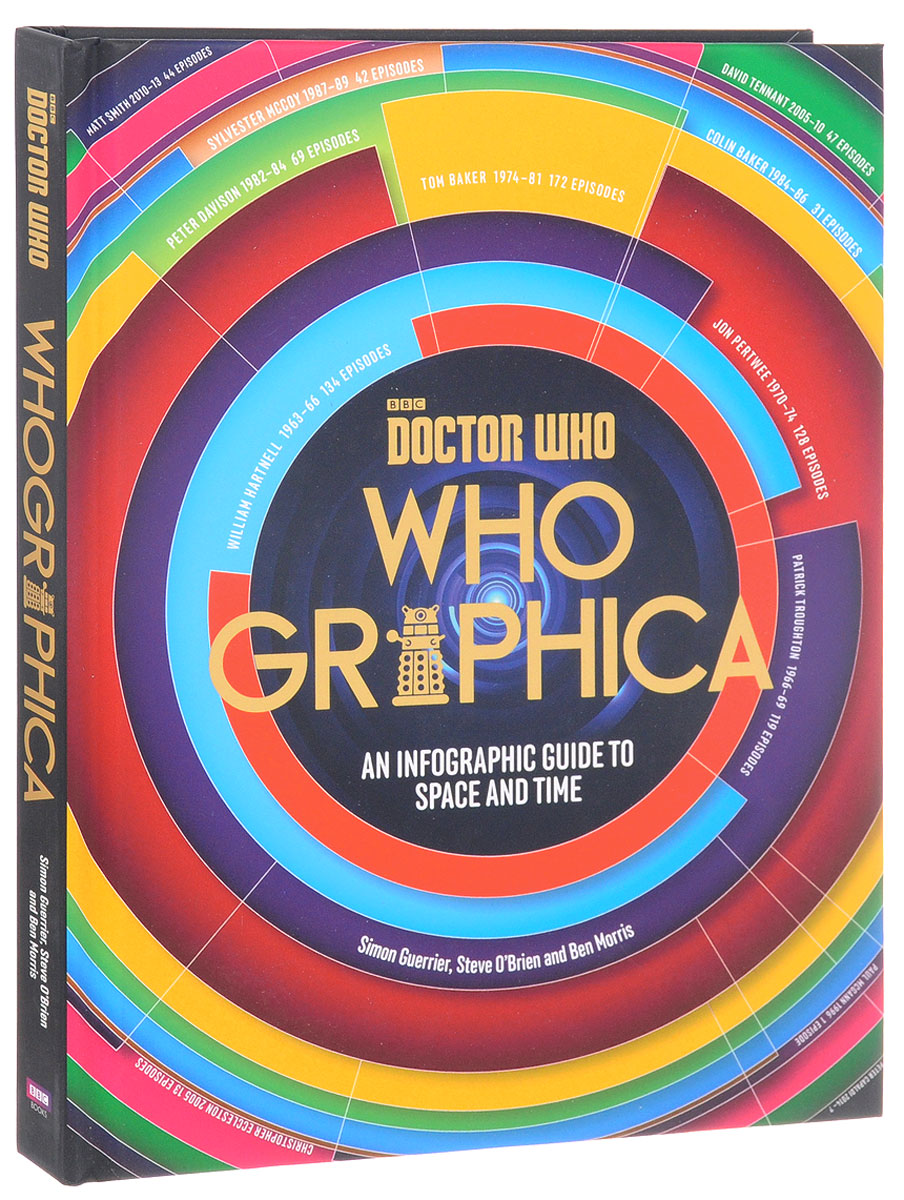Doctor Who: Whographica: An Infographic Guide to Space and Time футболка рингер printio доктор кто doctor who