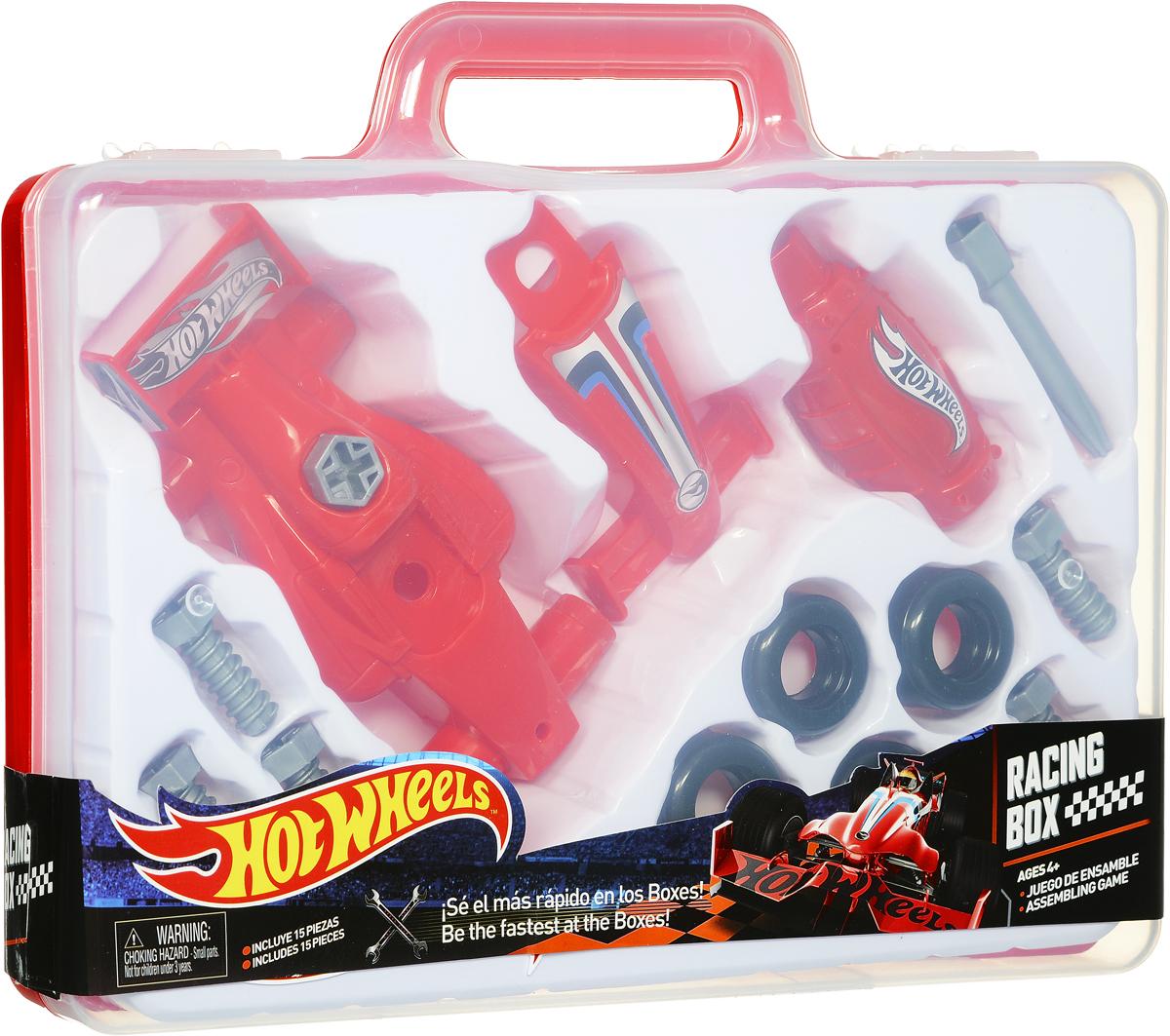Corpa Игровой набор Юный механик Hot Wheels в чемоданчике hot wheels игровой набор невообразимый гараж купить