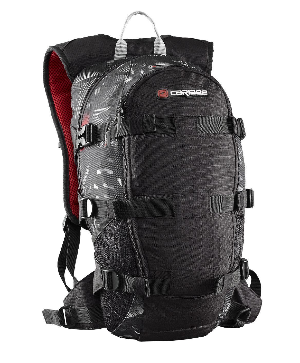 Рюкзак городской Caribee Stratos XL, цвет: черный, 18 л рюкзак с анатомической спинкой caribee x trek 28 28 л черный оранжевый 6382