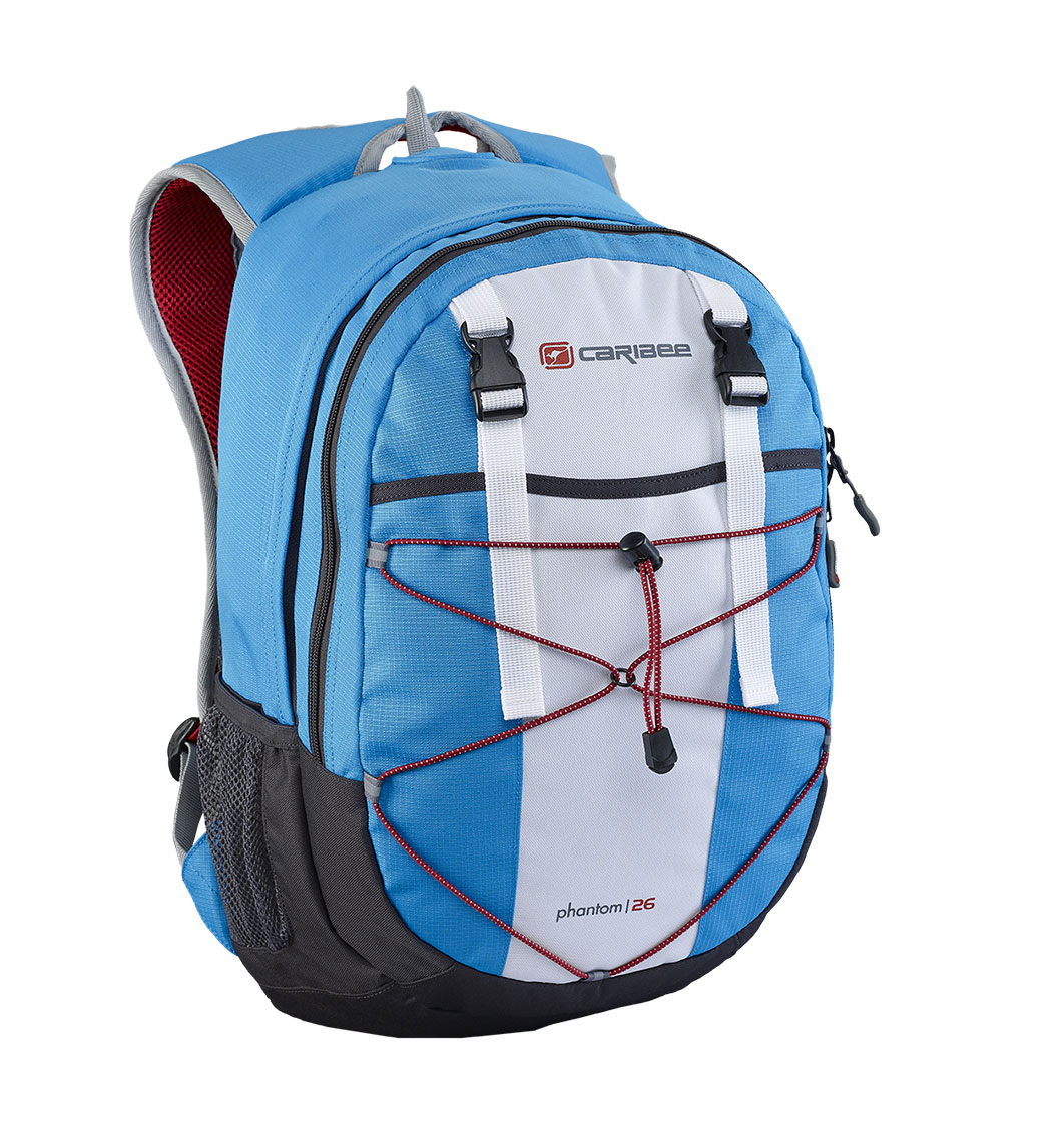 Рюкзак городской Caribee Phantom, цвет: синий, 24 л рюкзак с анатомической спинкой caribee x trek 28 28 л черный оранжевый 6382