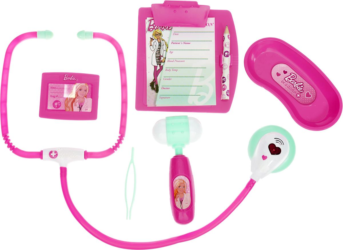Corpa Игровой набор Юный доктор Barbie 6 предметов D123 машинки barbie игровой набор фургон