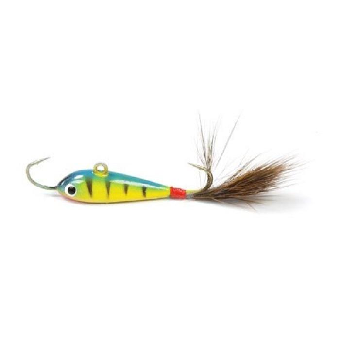 Балансир Asseri, цвет: зеленый, желтый, красный, длина 2,5 см, вес 1,8 г. 509-P2501