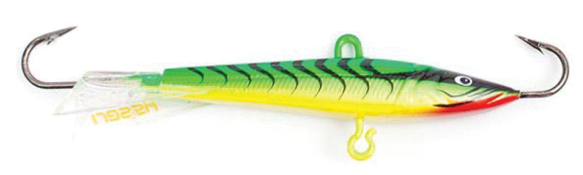 Балансир Asseri, цвет: зеленый, желтый, красный, длина 5 см, вес 5 г. 513-05006513-05006Балансир Asseri - это приманка, предназначенная для ловли в отвес. Основным и самым важным отличием балансиров от зимних блесен является способность играть в горизонтальной плоскости. Такая игра имитирует естественные движения мелкой рыбы, которые меньше настораживают хищника. С каждым годом приманки заслуженно занимают место в арсенале любителей зимней ловли хищника. Качественный и стильный балансир Asseri изготовлен по последним новейшим технологиям.