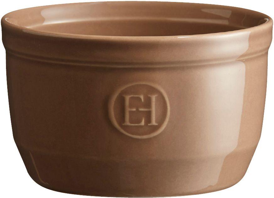 Рамекин Emile Henry, цвет: мускат, диаметр 10,5 см961010Порционная форма рамекин Emile Henry предназначена как для готовки, так и для сервировки отдельных порций. Идеально подходит для кухни в загородном доме. Высокопрочная керамика (HR ceramic) великолепно распределяет и сохраняет тепло, что и требуется для приготовления помадок, гратенов, рассыпчатых и открытых пирогов. Форма не боится перепадов температур, и ее можно ставить в духовку сразу после того, как она была вынута из морозильной камеры. Покрытие формы устойчиво к появлению сколов и царапин, а его цвет остается ярким даже после многократного использования в посудомоечной машине.Рамекин №10 имеет больший объем, чем другие. Поэтому он также может быть использован для несладких рецептов, таких как овощные пироги или порционный гратен. Он также может быть использован для приготовления более легких десертов, таких как шоколадный мусс или тирамису.