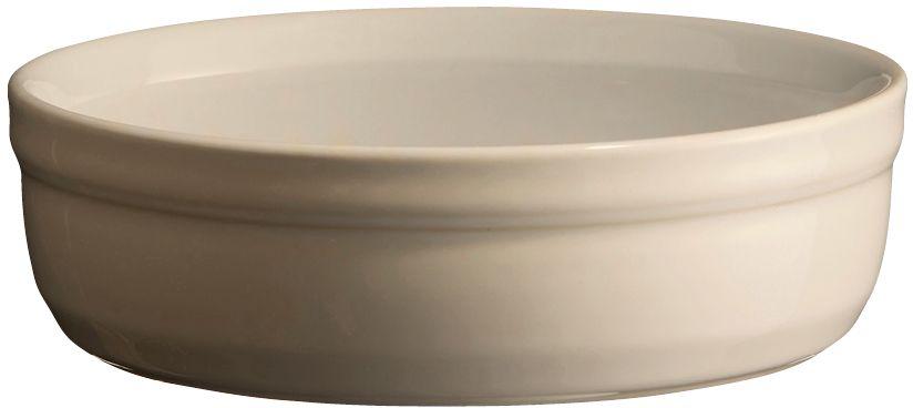 Рамекин Emile Henry, цвет: кремовый, диаметр 12 см21013Порционная форма рамекин Emile Henry предназначена как для готовки, так и для сервировки отдельных порций. Идеально подходит для кухни в загородном доме. Высокопрочная керамика (HR ceramic) великолепно распределяет и сохраняет тепло, что и требуется для приготовления помадок, гратенов, рассыпчатых и открытых пирогов. Форма не боится перепадов температур, и ее можно ставить в духовку сразу после того, как она была вынута из морозильной камеры. Покрытие формы устойчиво к появлению сколов и царапин, а его цвет остается ярким даже после многократного использования в посудомоечной машине.