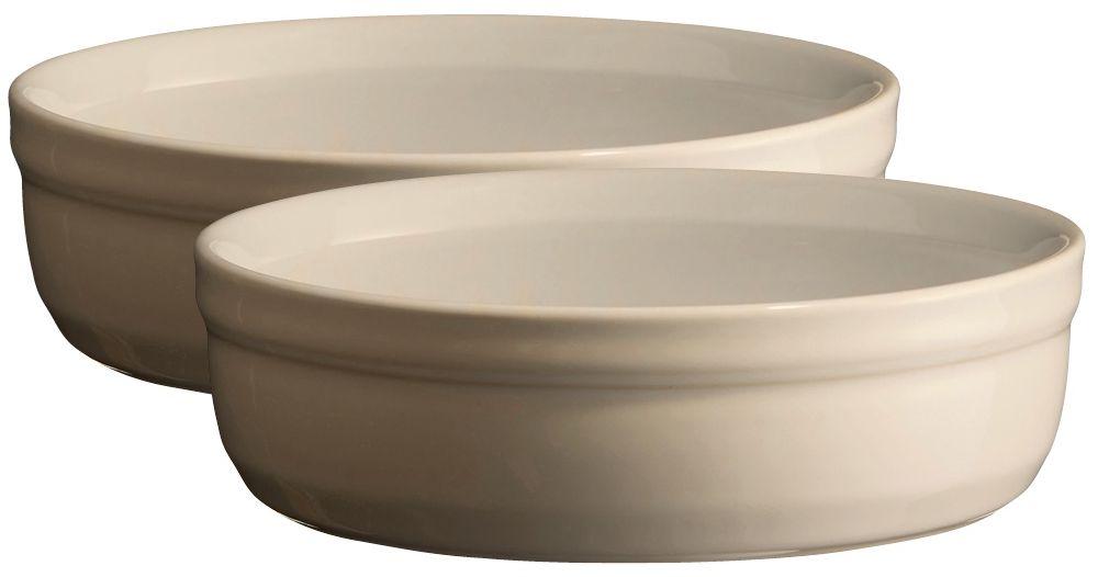 Рамекин Emile Henry, цвет: кремовый, диаметр 12 см, 2 шт24013Порционная форма рамекин Emile Henry предназначена как для готовки, так и для сервировки отдельных порций. Идеально подходит для кухни в загородном доме. Высокопрочная керамика (HR ceramic) великолепно распределяет и сохраняет тепло, что и требуется для приготовления помадок, гратенов, рассыпчатых и открытых пирогов. Форма не боится перепадов температур, и ее можно ставить в духовку сразу после того, как она была вынута из морозильной камеры. Покрытие формы устойчиво к появлению сколов и царапин, а его цвет остается ярким даже после многократного использования в посудомоечной машине.
