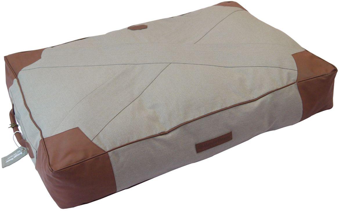 Подушка для животных Happy House  Classical Canvas , цвет: темно-серый, 95 х 65 х 15 см - Лежаки, домики, спальные места