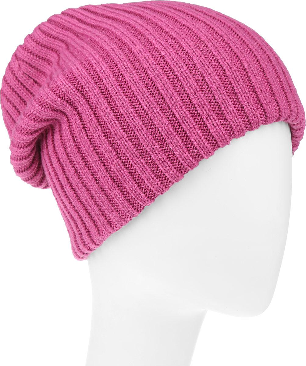 Шапка женская Leighton Trend, цвет: фуксия. 4-075. Размер 56/584-075Женская шапка Leighton Trend изготовлена из шерсти с добавлением акрила. Модель оформлена вертикальной вязкой. Уважаемые клиенты!Размер, доступный для заказа, является обхватом головы.