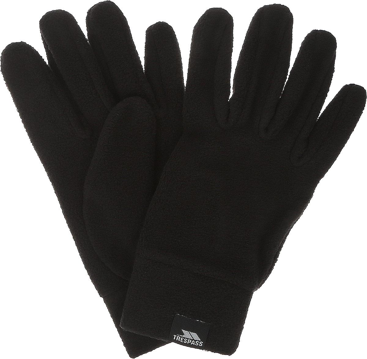 Перчатки мужские Trespass Gaunt_II, цвет: черный. MAGLGLM20002. Размер L (9)MAGLGLM20002Тонкие теплые перчатки выполнены из микрофлиса 120 г/м2. На запястьях модель дополнена широкими манжетами.