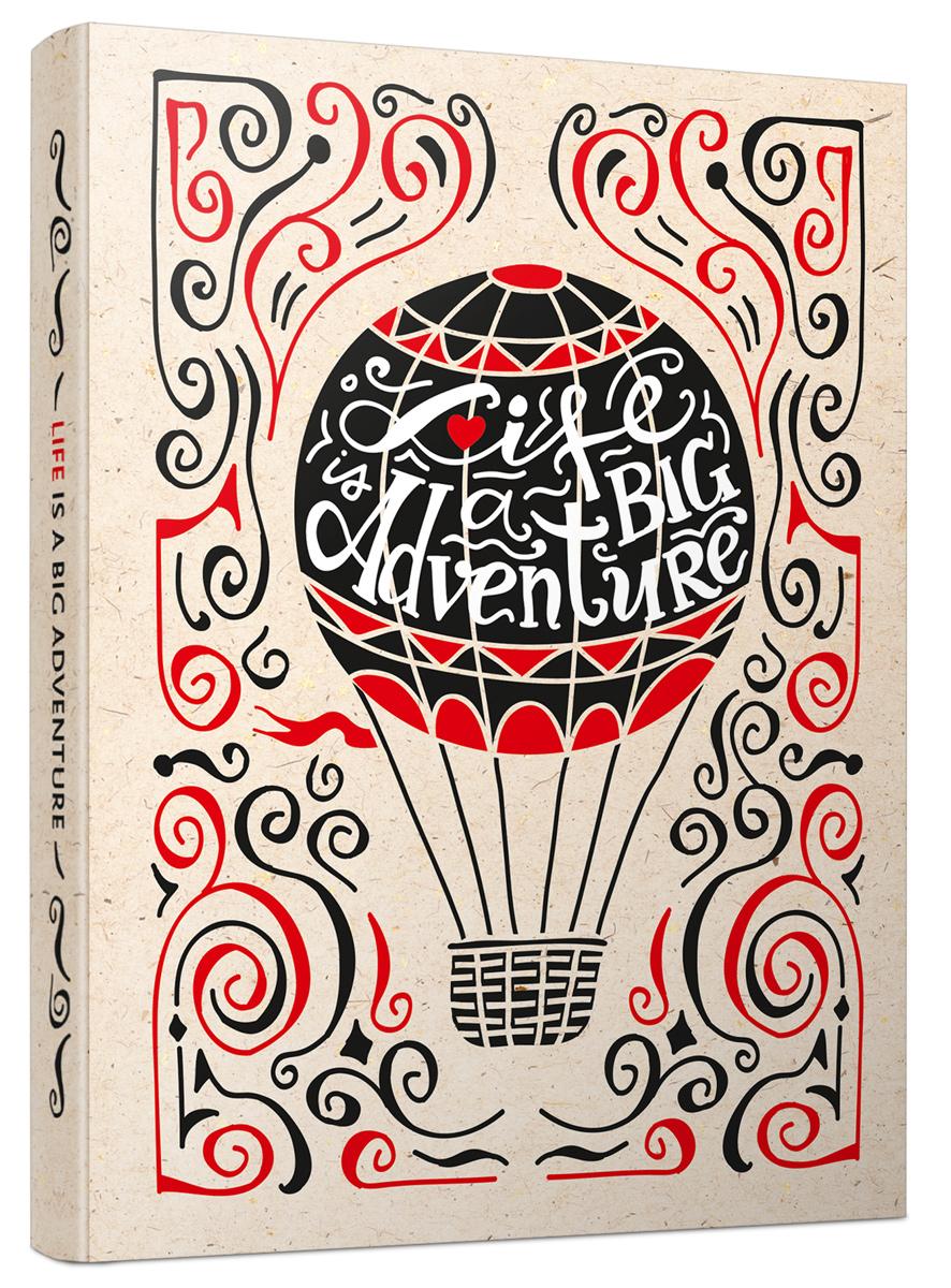 Попурри Блокнот Life Is A Big Adventure 80 листов в клетку/линейку2228536Блокнот Попурри Life Is A Big Adventure формата A5 со сшитым переплетом отлично подойдет для записи важной информации. Обложка выполнена из высококачественного картона. Блокнот, включающий 80 листов, разделен на блоки со страницами в клетку и линейку.
