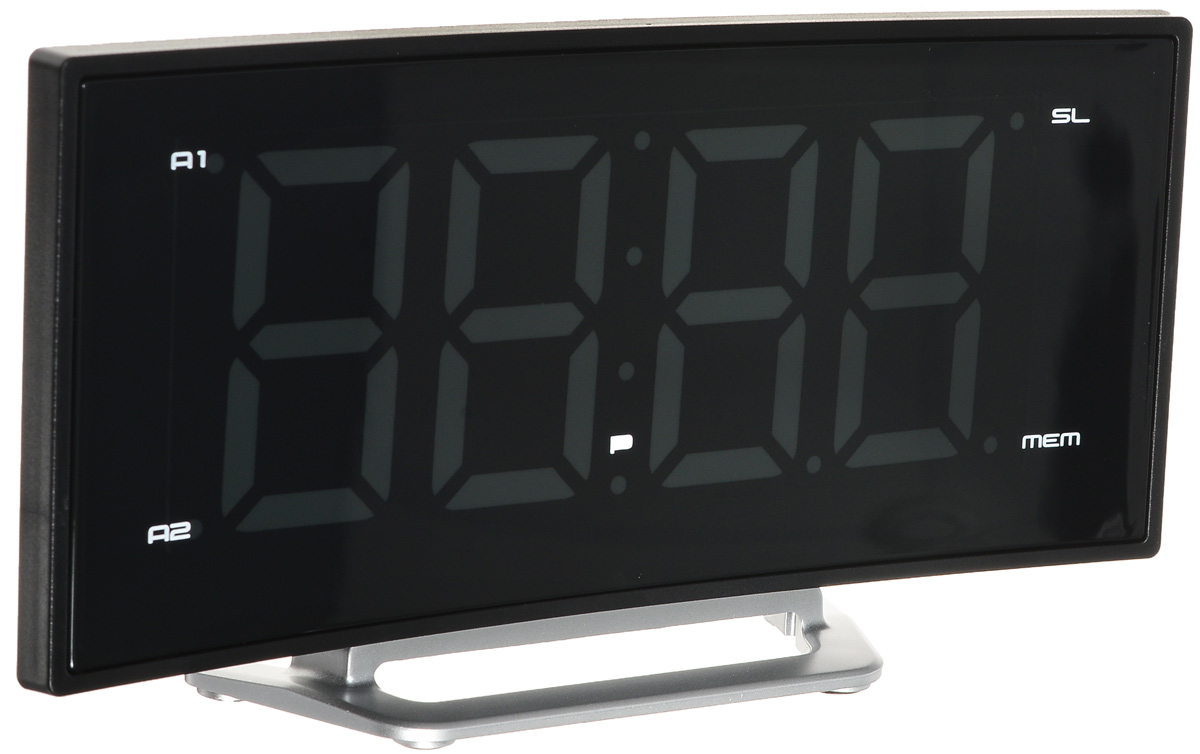 MAX CR-2906W, Black White радиобудильник - Радиобудильники и проекционные часы