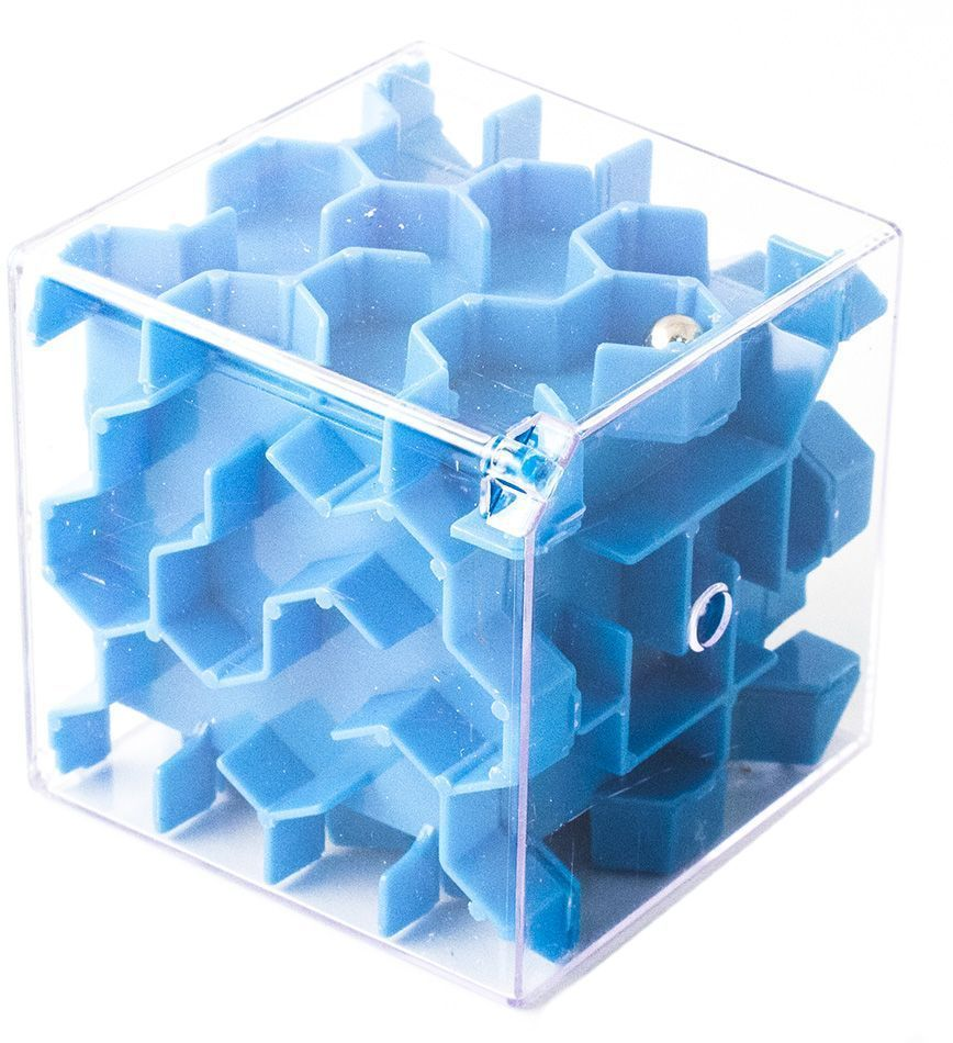 Копилка-головоломка Эврика Лабиринт, цвет: синий головоломка гвозди 1 эврика 816661