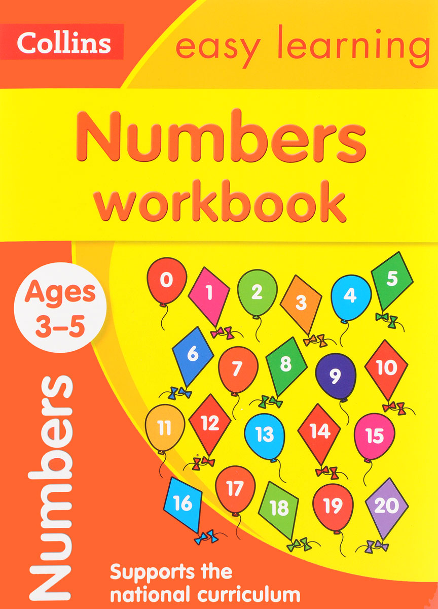 Numbers Workbook: Ages 3-5 driscoll l cambridge english skills real reading 3 with answers