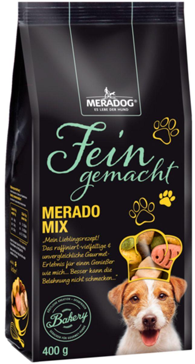 Лакомство для собак Meradog Merado-Mix, 400 г47474Лакомства Meradog - это восхитительное хрустящее печенье, которое не оставит равнодушным ни одну собаку. Лакомства Meradog всегда помогут сделать вашего питомца счастливым, а особый вкус и аромат обязательно доставят ему море удовольствия, и он попросит еще. Лакомства идеально подойдут в качестве угощения и для дрессировки. Воспитание и дрессировка с вкусняшками Meradog приведут вас к цели быстрее, чем вы думаете.Лакомства для собак Meradog - это:- Полезные добавки к основному питанию.- Витамины и минералы, способствующие восстановлению баланса питательных веществ и укреплению здоровья собаки.- Отличная профилактика образования зубного камня и заболеваний полости рта.Побалуйте свою собаку - подарите ей заботу с Meradog.Состав: злаки, мясо и субпродукты животного происхождения, продукты растительного происхождения, масла и жиры, минералы, овощи, сахар.Товар сертифицирован.Тайная жизнь домашних животных: чем занять собаку, пока вы на работе. Статья OZON ГидЧем кормить пожилых собак: советы ветеринара. Статья OZON Гид