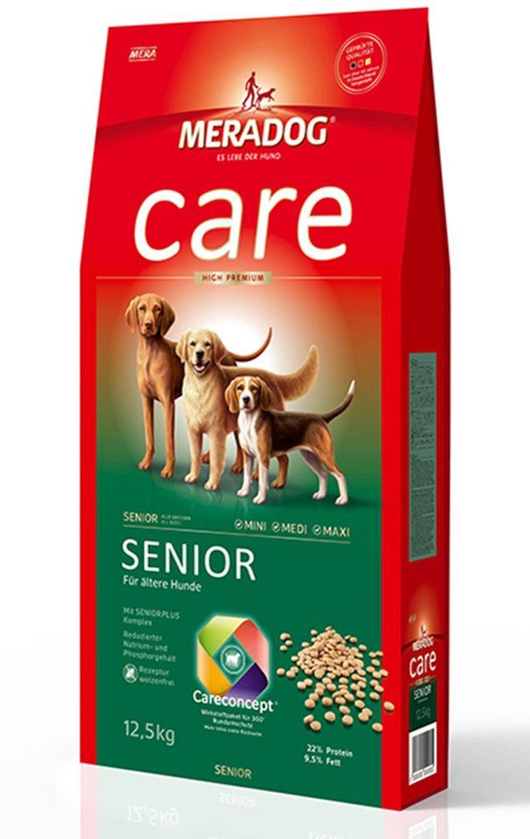 Корм сухой Meradog Senior, для стареющих собак, 300 г51976Концепция защиты от MERADOG:антиоксиданты (витамин C, Е, бета-каротин и селен) для оптимальной защиты клеток. Натуральные жирные кислоты Омега-3 и Омега-6 (масло лосося, подсолнечное масло и масло льняных семян), а также хелат цинка для кожи и шерсти. Пребиотический инулин для стабильной кишечной флоры и надежного пищеварения. Формула «Запах, стоп!» - комплекс биологически активных веществ для уменьшения неприятного запаха от собаки. L-карнитин способствует жировому и энергетическому обмену. Источники высококачественного белка (птица, яйца, рыба) для поддержания оптимального телосложения и жизнеспособности.