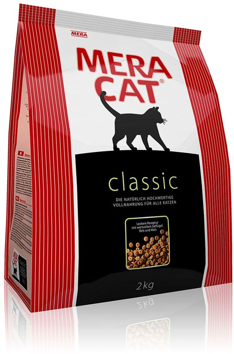 Корм сухой Mera Cat Classic, для кошек, полнорационный, 2 кг59542Mera Cat Classic - это корм, произведенный в Германии, он обладает превосходным вкусом и ароматом, которые не оставят равнодушной даже самую привередливую кошку.Mera Cat Classic - не только подарит любовь и заботу питомцу, но и обеспечит его здоровьем и долголетием на всю жизнь.Корм Mera Cat Classic это:- 68% свежего мяса, - устойчивая кишечная микрофлора и отличное пищеварение,- профилактика волосяных комочков,- поддержка иммунитета на клеточном уровне,- сбалансированное и полнорационное питание.Mera Cat Classic - это истинная любовь для кошек с характером. Это истинно немецкое качество.Состав: мука из мяса птицы (курица), рис, кукурузный глютен,мука из шкварок, ячмень, животный жир, свекловичная стружка, целлюлозная клетчатка,куриная печень (высушенная), хлорид натрия, рыбий жир, животный белок (гидролизованный), пивные дрожжи, высушенное яйцо.Товар сертифицирован.Чем кормить пожилых кошек: советы ветеринара. Статья OZON Гид