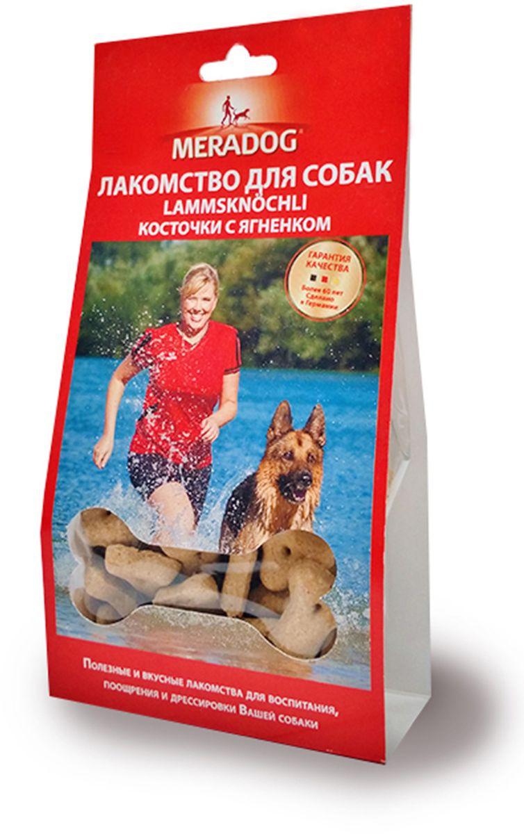 Лакомство для собак Meradog Lammknochli, косточки с ягненком, 150 г943610Лакомства Meradog - это восхитительное хрустящее печенье, которое не оставит равнодушным ни одну собаку. Лакомства Meradog всегда помогут сделать вашего питомца счастливым, а особый вкус и аромат обязательно доставят ему море удовольствия, и он попросит еще. Лакомства идеально подойдут в качестве угощения и для дрессировки. Воспитание и дрессировка с вкусняшками Meradog приведут вас к цели быстрее, чем вы думаете.Лакомства для собак Meradog - это:- Полезные добавки к основному питанию.- Витамины и минералы, способствующие восстановлению баланса питательных веществ и укреплению здоровья собаки.- Отличная профилактика образования зубного камня и заболеваний полости рта.Побалуйте свою собаку - подарите ей заботу с Meradog.Состав: злаки, мясо и мясные субпродукты, масла и жиры, овощные субпродукты, минералы.Товар сертифицирован.Уважаемые клиенты! Обращаем ваше внимание на возможные изменения в дизайне упаковки. Качественные характеристики товара остаются неизменными. Поставка осуществляется в зависимости от наличия на складе.
