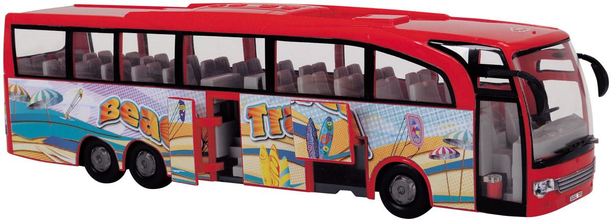 Dickie Toys Туристический автобус цвет красный 3745005 dickie toys городской трамвай