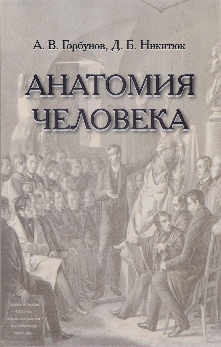 А. В. Горбунов, Д. Б. Никитюк Анатомия человека. Учебник винсент перез большой атлас анатомии человека