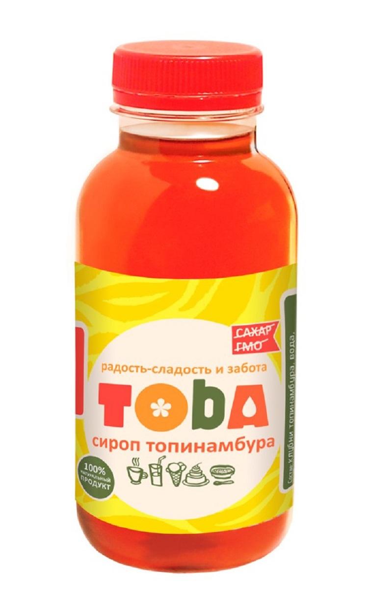 Seryogina Toba сироп топинамбура, 400 г721Сироп топинамбура изготавливается без добавления сахара и фруктозы, а натуральный лимонный сок придает ему лёгкую кислинку. Не обладает ярко выраженным ароматом, поэтому широко используется во многих блюдах и напитках. Сироп удобно и просто применять в кулинарных целях: он легко растворяется в воде.По вкусу напоминает очень молодой жидкий цветочный мед, насыщенного янтарного цвета.