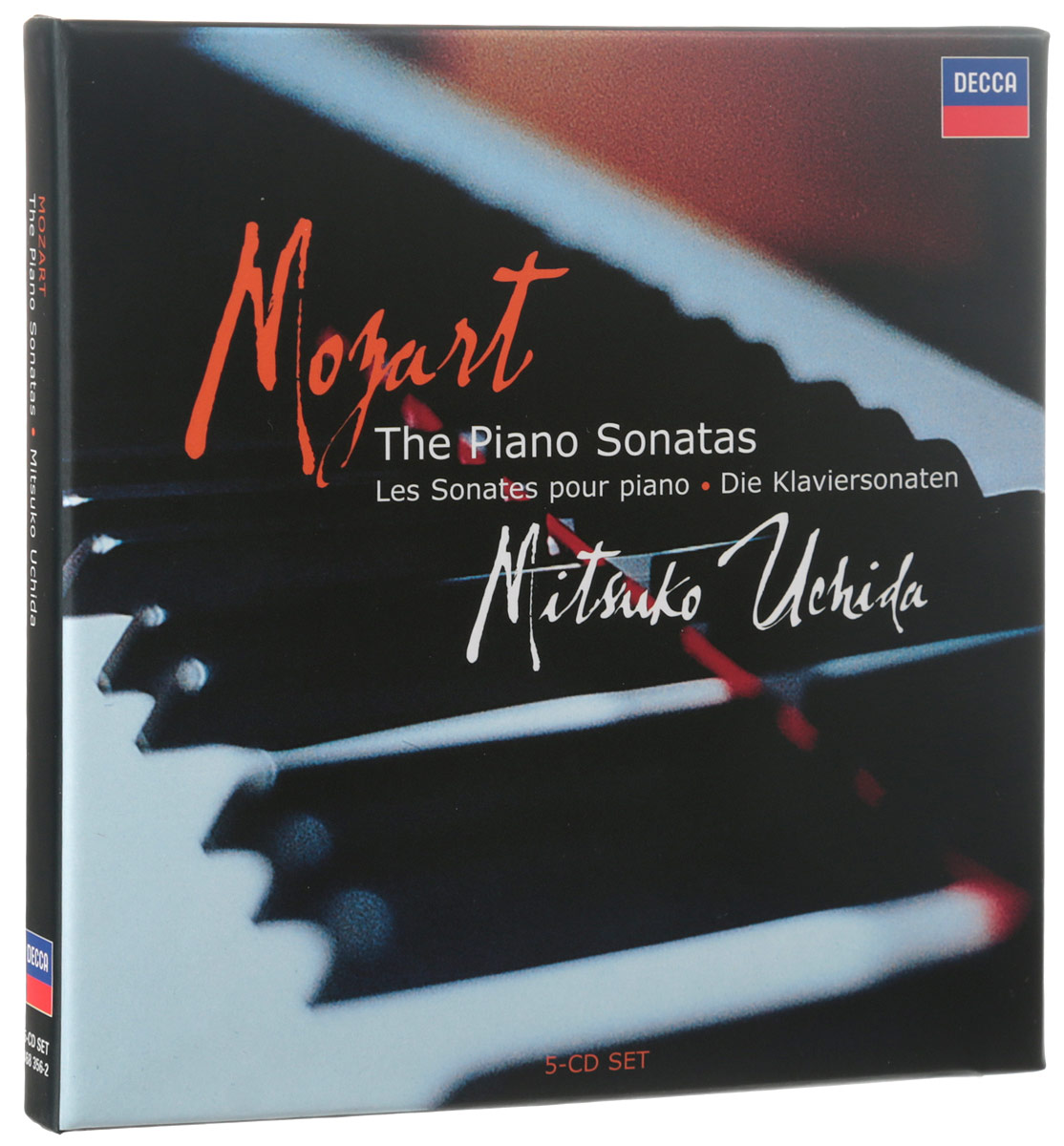 Mitsuko Uchida. Mozart. The Piano Sonatas (5 CD)