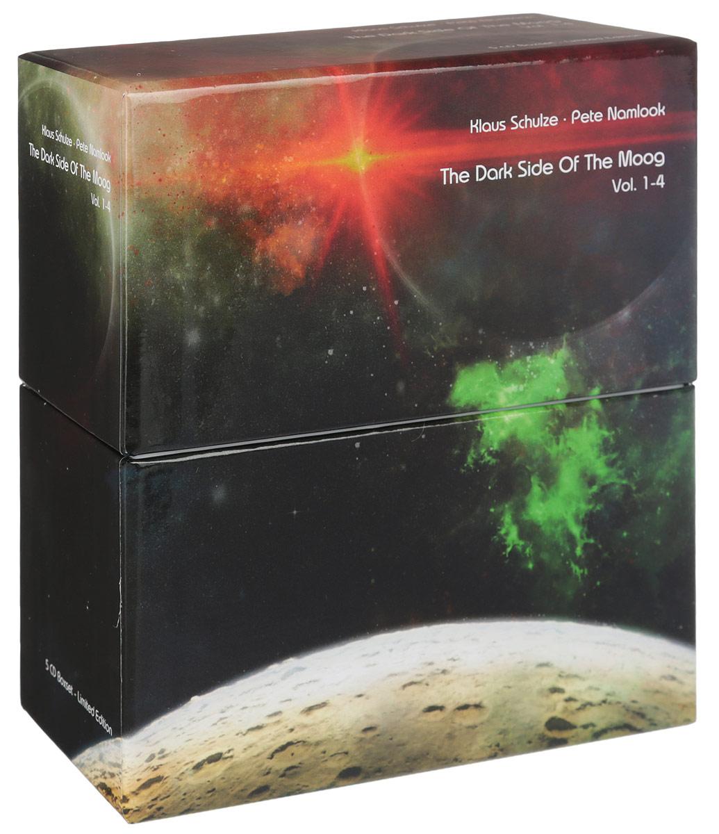 Клаус Шульце,Пит Нэмлук,Билл Лассвелл Klaus Schulze, Pete Namlook. The Dark Side Of The Moog. Vol. 1-4. Limited Edition (5 CD) roxy music roxy music the studio albums limited edition 8 lp