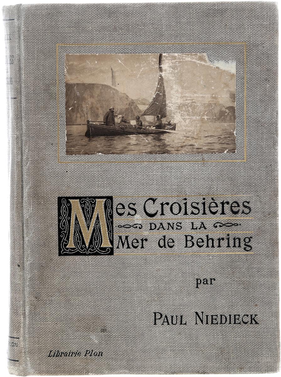 Mes Croisieres dans La Mer de BehringГУ-15Париж, 1908 год. Издательство Plon-Nourrit et C-ie.Богато иллюстрированное издание с 132 фотографиями в тексте.Типографский переплет.Сохранность хорошая.Вниманию читателей предлагается книга немецкого путешественника Пауля Нидика (Paul Niedieck), в которой он описывает свой круиз по Берингову морю, который он совершил в 1906 году. За время своего путешествия Нидик побывал на Камчатке и на Аляске.В книге автор описывает своивстречи с аборигенами, природные условия и ресурсы регионов, приводит свои этнологические наблюдения.Книга богато иллюстрирована фотографиями, сделанными во время путешествия.Не подлежит вывозу за пределы Российской Федерации.