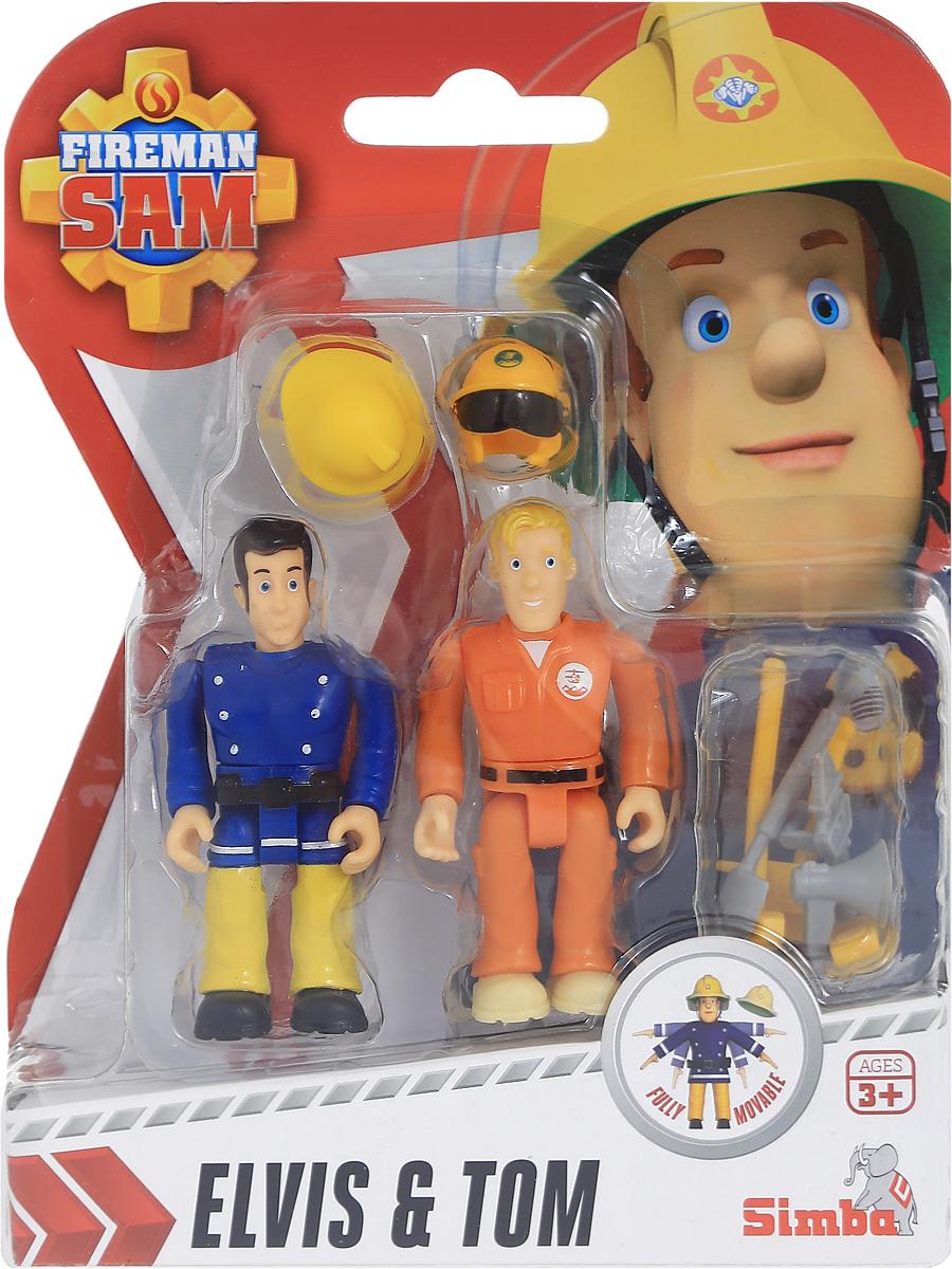 Simba Набор фигурок Elvis & Tom фигурки игрушки simba пожарный сэм фигурки 7 5см 3в 24 96