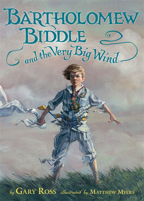 Bartholomew Biddle and the Very Big Wind fair blows the wind