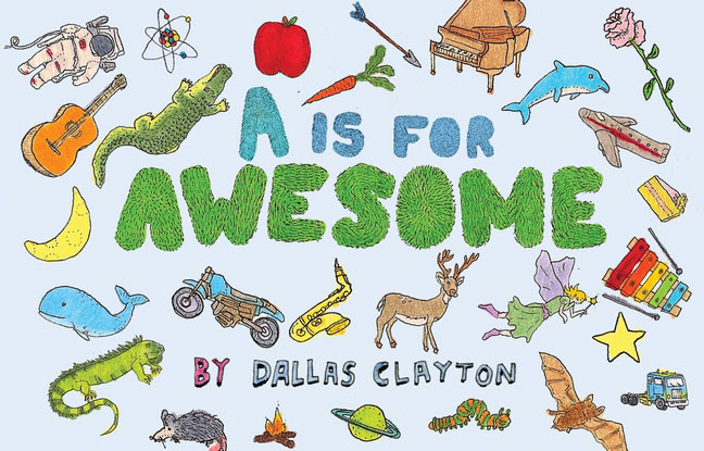 A Is for Awesome rhyming life and death