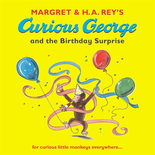 Curious George and the Birthday Surprise комикс saint george and the dragon