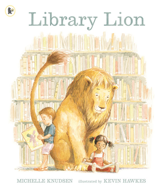 Library Lion the invisible library