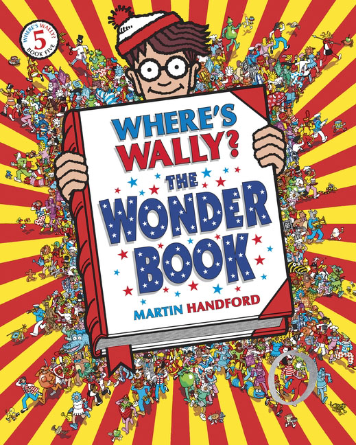 Where's Wally? The Wonder Book fantastic cities a coloring book of amazing places real and imagined