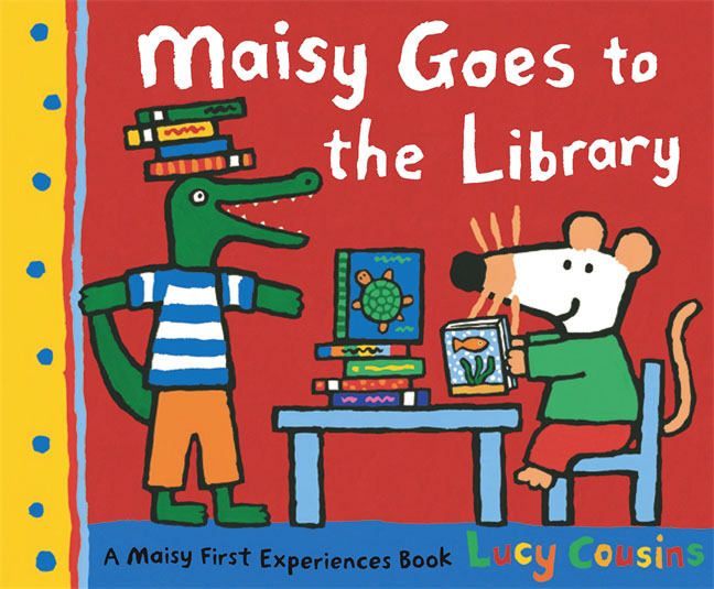 Maisy Goes to the Library the invisible library
