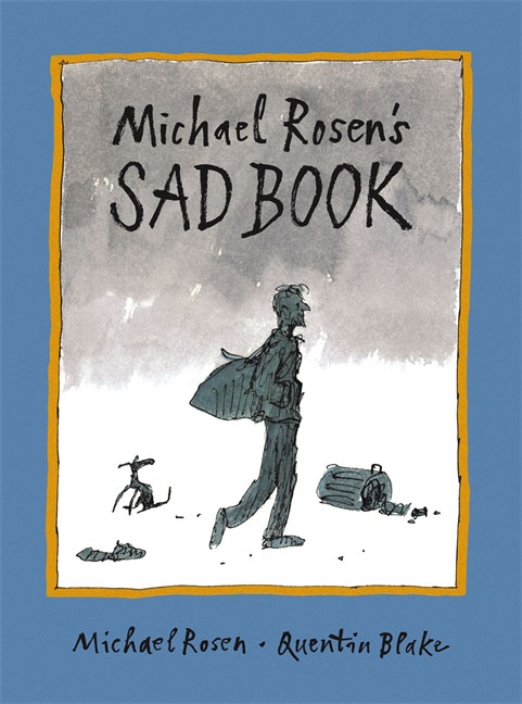 Michael Rosen's Sad Book туфли michael kors бежевые