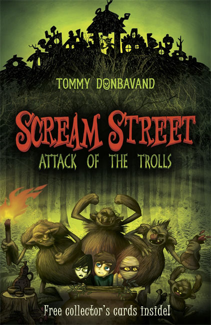 Scream Street 8: Attack of the Trolls ingri d aulaire d aulaires book of trolls