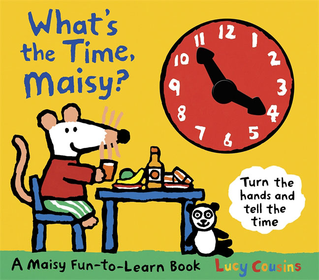 What's the Time, Maisy? maisy s farm sticker book