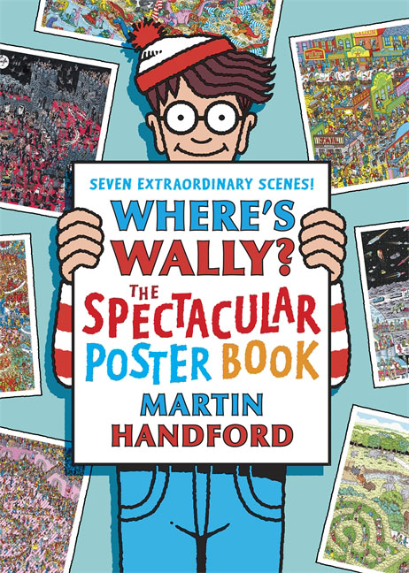 Where's Wally? The Spectacular Poster Book wally olins the brand handbook