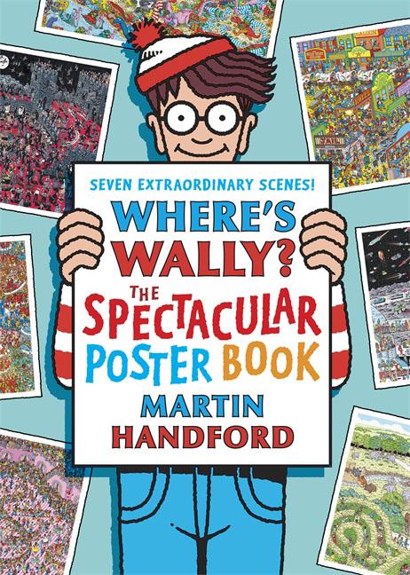 Where's Wally? The Spectacular Poster Book where s wally santa spectacular