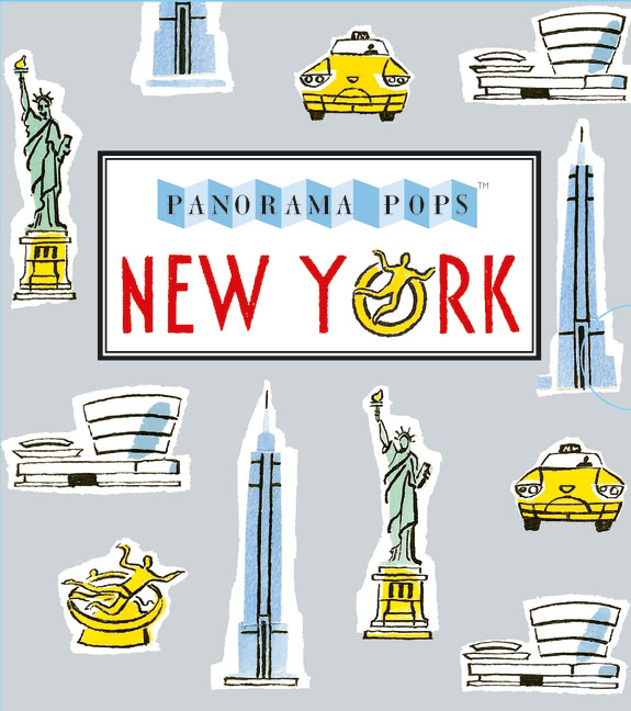 New York: Panorama Pops brooklyn bridge pop up card 3d new york souvenir cards