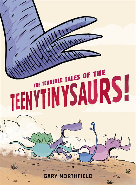 The Terrible Tales of the Teenytinysaurs! bim and the cloud