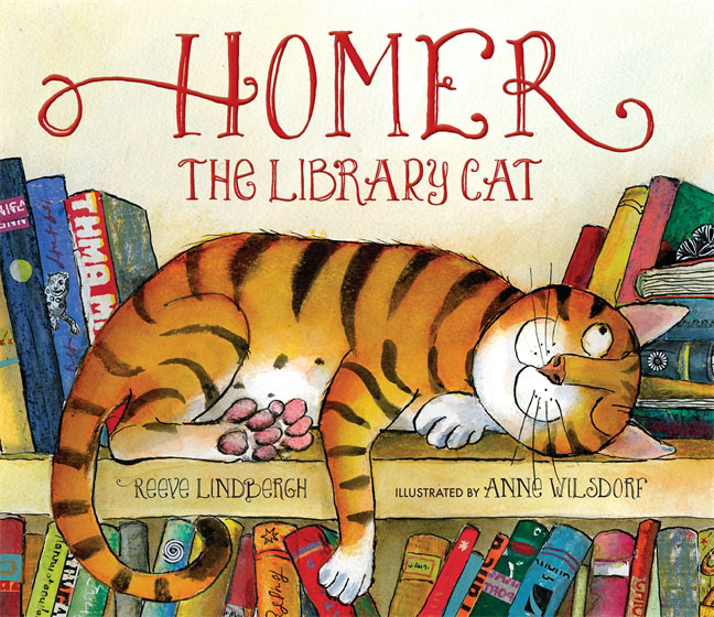 Купить Homer, the Library Cat,