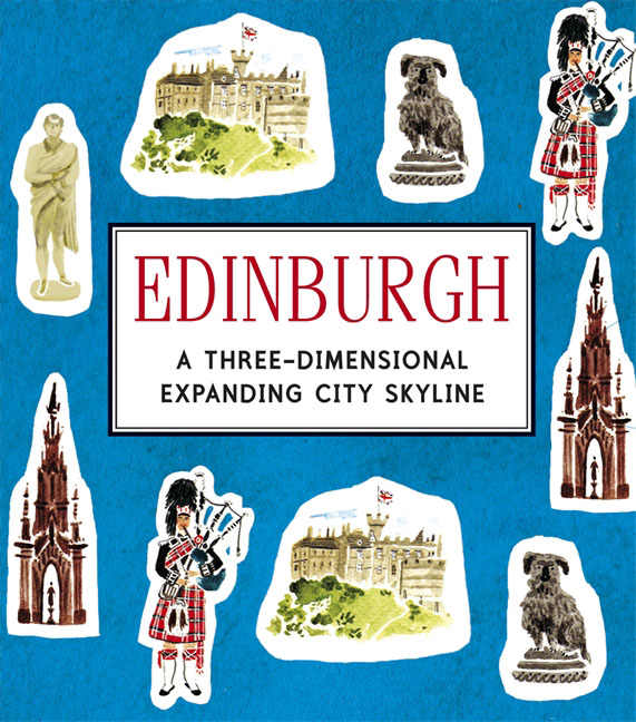 Edinburgh: A Three-Dimensional Expanding City Skyline
