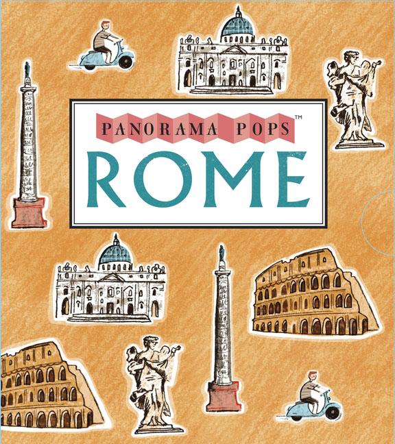Rome: Panorama Pops shakespeare on flowers panorama pops