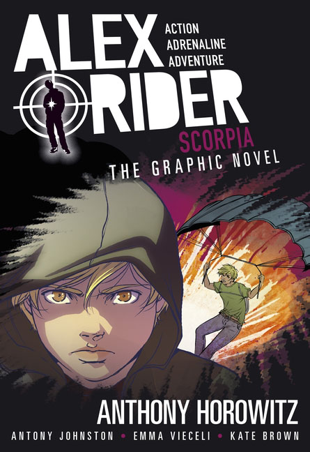 Scorpia Graphic Novel the librarian and the spy