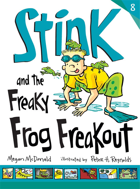 Купить Stink and the Freaky Frog Freakout,