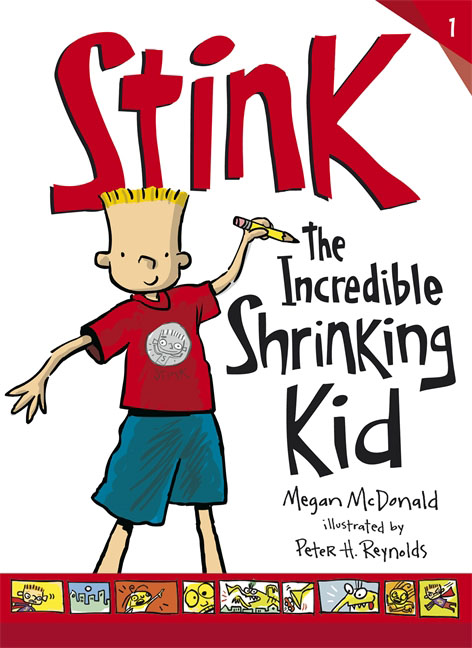 Stink: The Incredible Shrinking Kid stink and the great guinea pig express