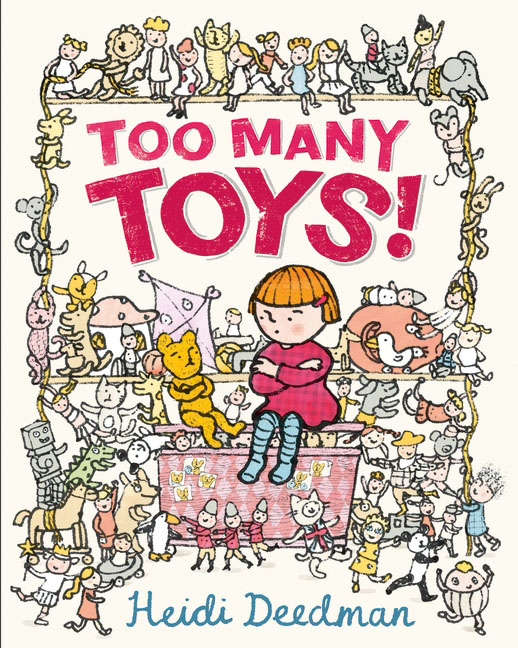 Too Many Toys! teddy mars book 2 almost a winner