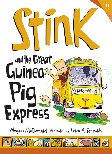 Купить Stink and the Great Guinea Pig Express,